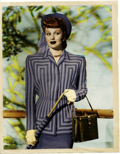 I Love Lucy wallpaper possibly containing a business suit and a well dressed person entitled Lucille Ball