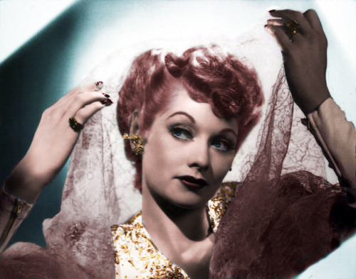 I 爱情 Lucy 壁纸 entitled Lucille Ball