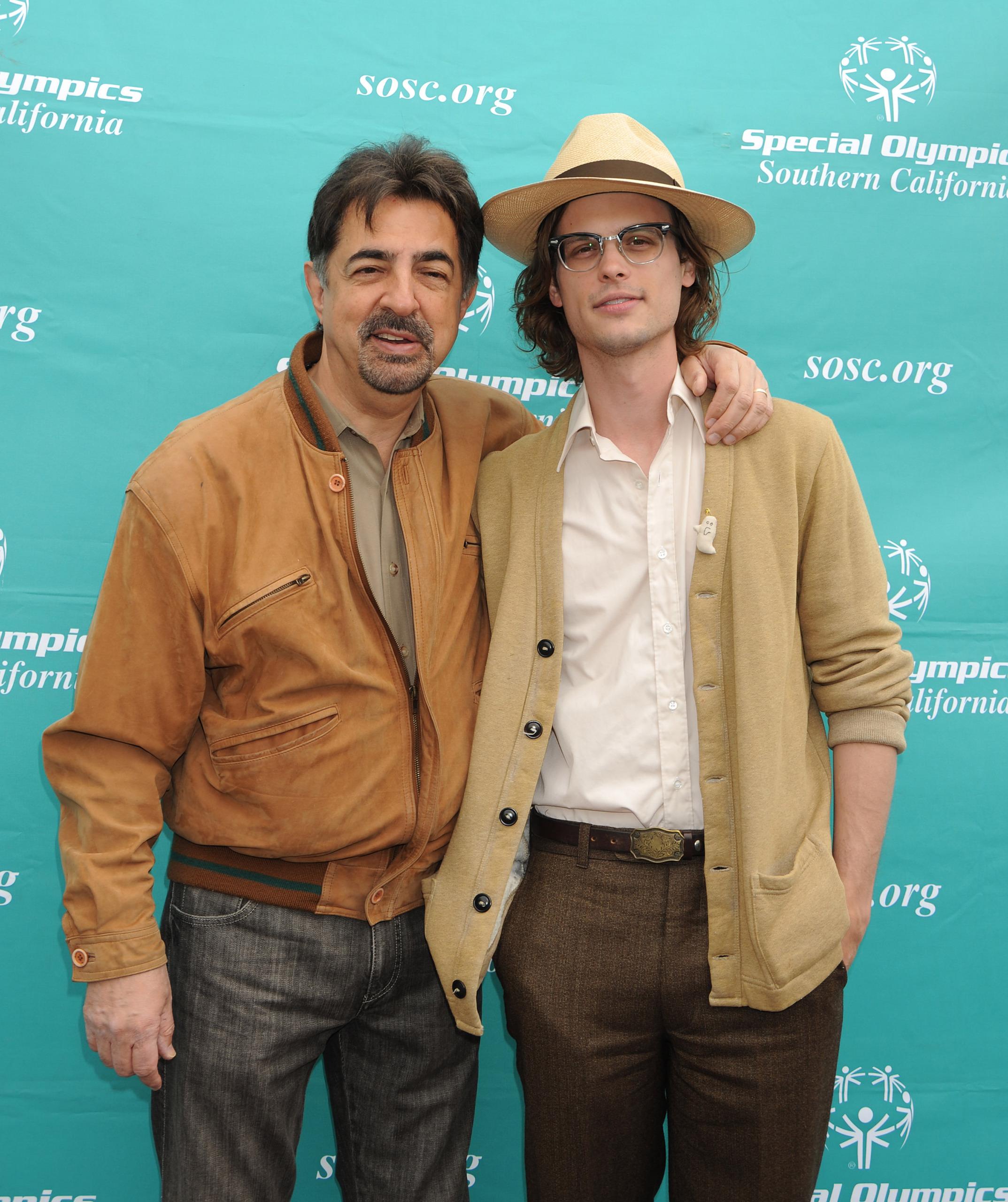 MGG & Joe Mantegna @ Special Olympics