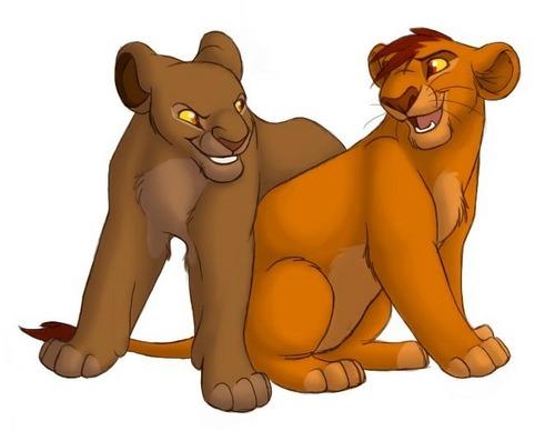 Mufasa & Sarabi Cubs