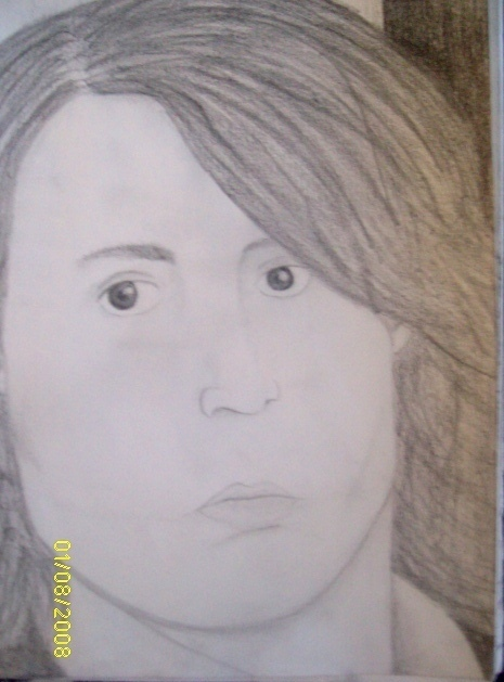 My drawing of Sam