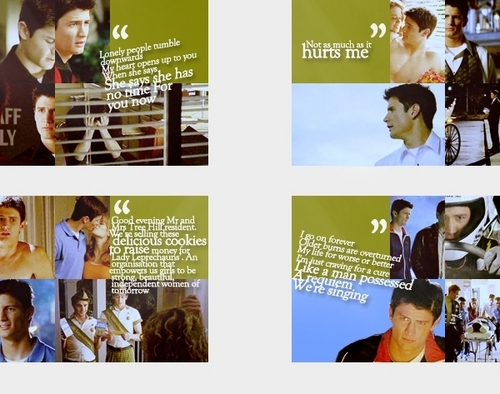 Nathan Scott wallpaper titled Nathan frases <3
