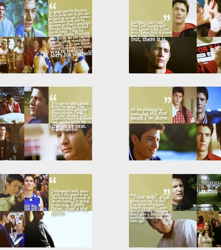 Nathan Scott wallpaper called Nathan frases <3