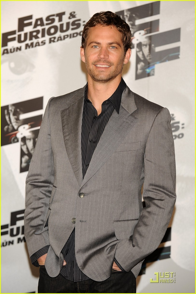 Paul @ Fast & Furious Madrid Photocall - paul-walker photo
