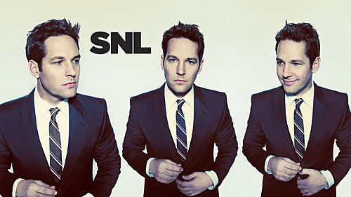 Paul Rudd wallpaper containing a business suit, a suit, and a double breasted suit called Paul Rudd Hosts SNL: 11/08/2008