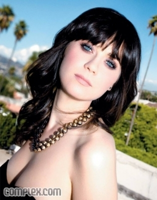 Zooey Deschanel wallpaper containing a portrait entitled Photoshoot #52