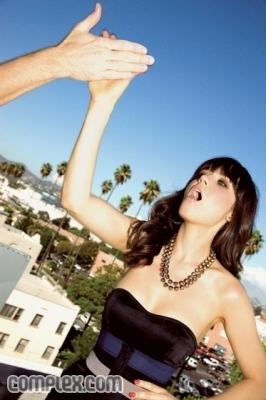 Zooey Deschanel wallpaper with attractiveness and a portrait entitled Photoshoot #52