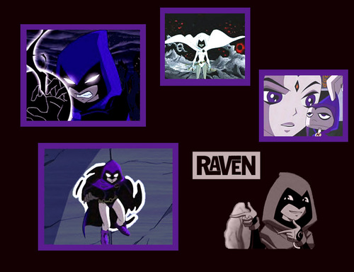 Teen Titans images Raven HD wallpaper and background photos