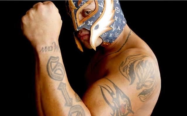 Rey misterio rey mysterio photo 5280465 fanpop for Rey mysterio tattoos