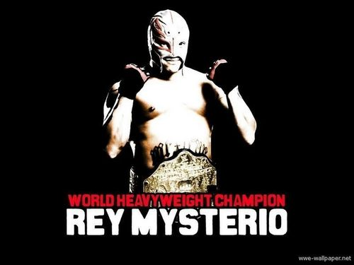Professional Wrestling wallpaper entitled Rey Mysterio Jr. - WWE World Champion