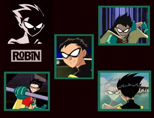Los Jóvenes Titanes fondo de pantalla titled Robin