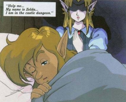 SNES: Zelda's Message