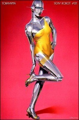 Mannequins দেওয়ালপত্র containing জীবন্ত entitled Sexy Female Robots