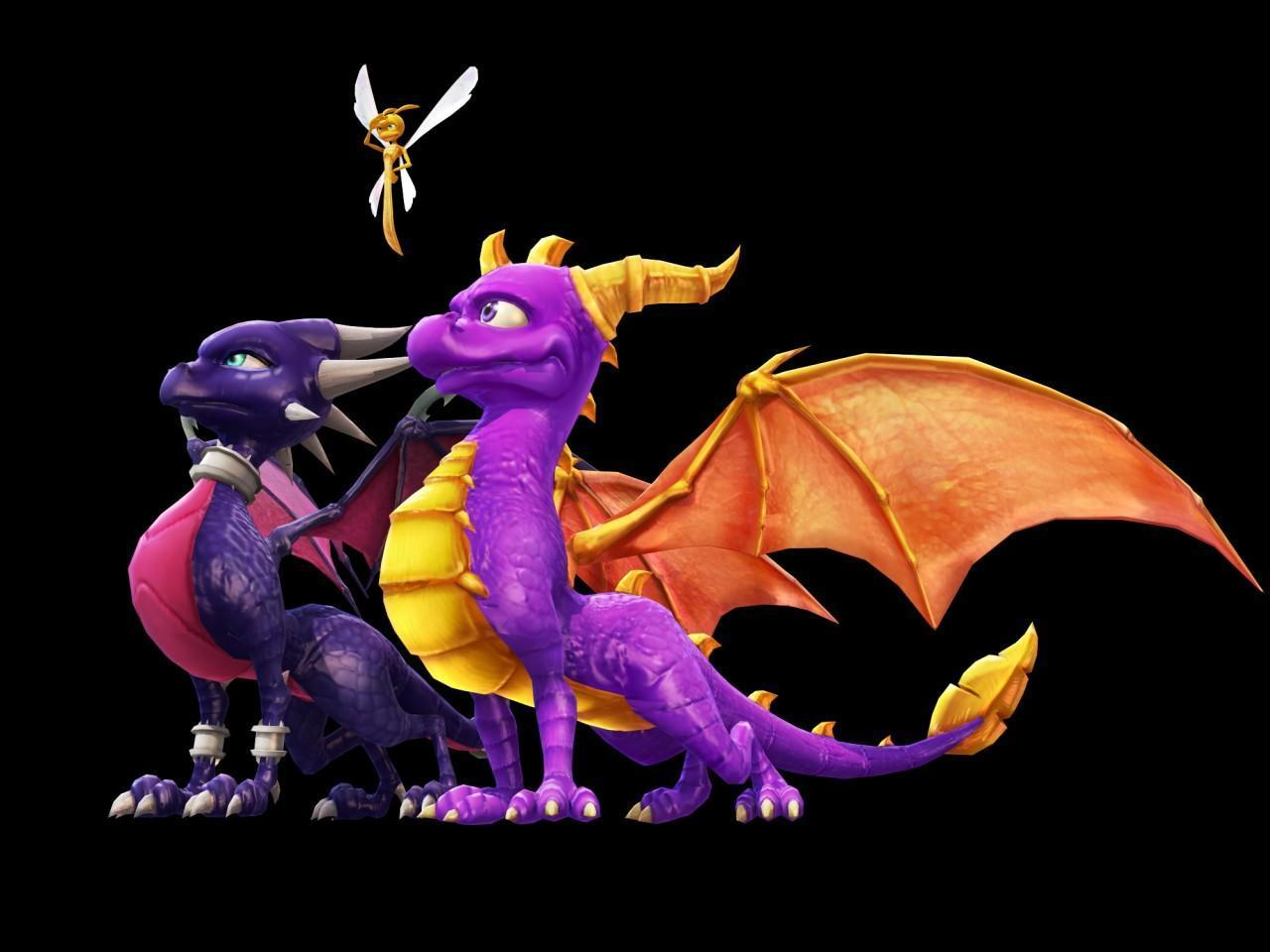 Cynder Spyro And