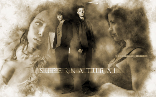 supernatural Characters Widescreen
