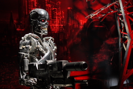 T 800 Terminator ... and background images in the Terminator club tagged: terminator t-800