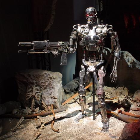 T 800 Terminator Terminator T-800 Endoskeleton