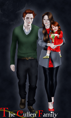 THE CULLEN FAMILY♥!!