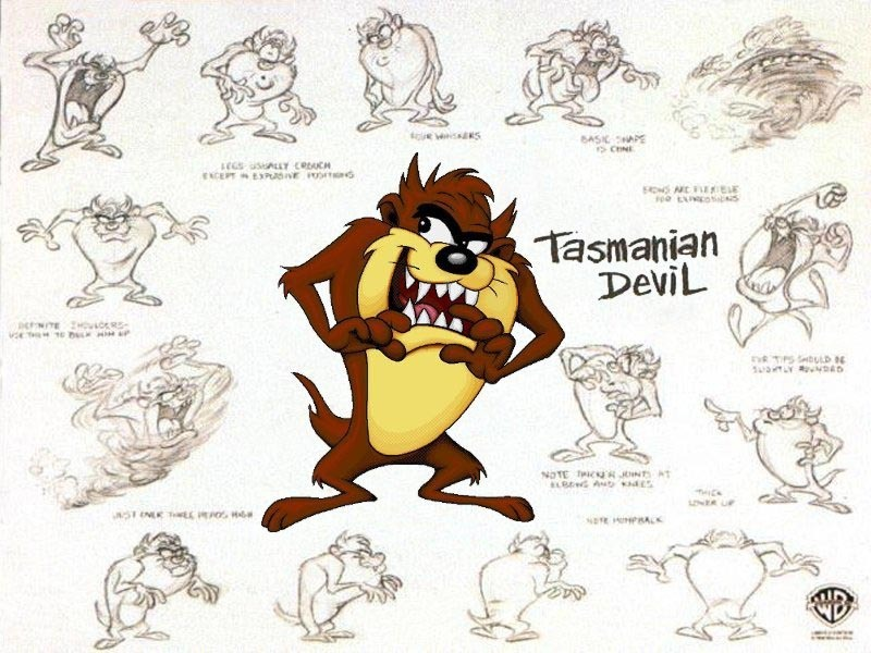 Cartooning The Ultimate Character Design Book Download : Taz devil and friends images hd wallpaper