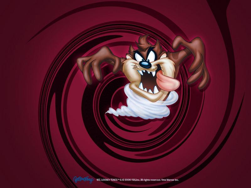looney tunes taz. Taz Wallpaper - Looney Tunes