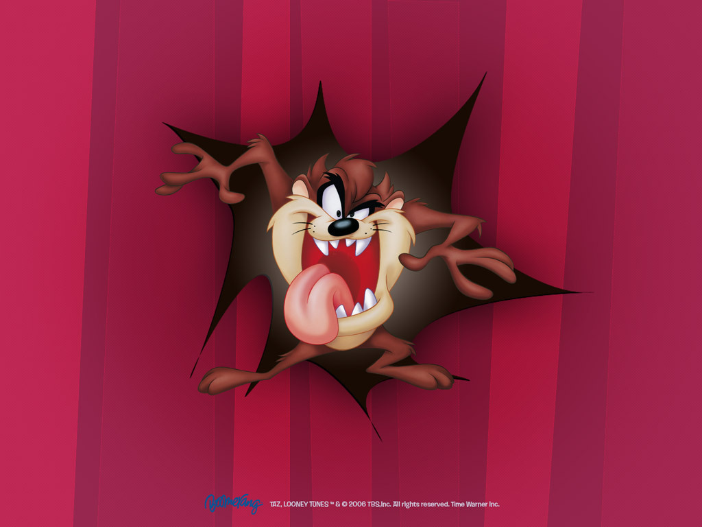 Looney Tunes Taz Wallpaper