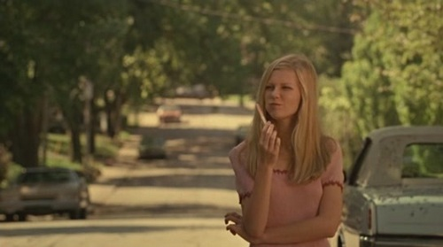 The Virgin Suicides wallpaper possibly containing a street and a portrait called The Virgin Suicides