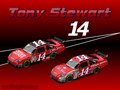 Tony Stewart 2009 - nascar wallpaper