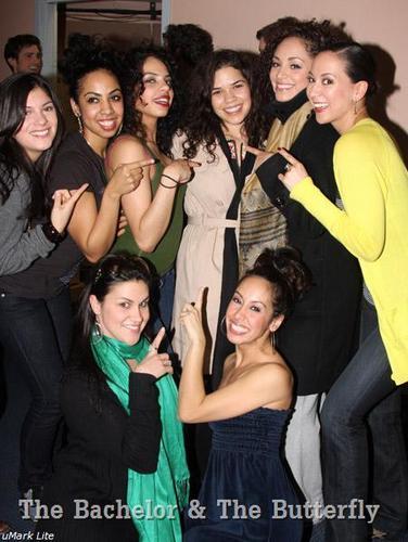 UB Cast Visits Cast of West Side Story