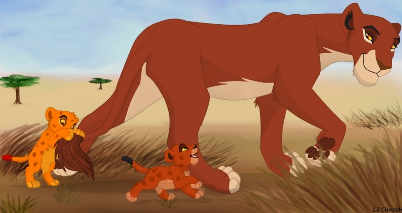The lion king mufasa and scar - photo#16