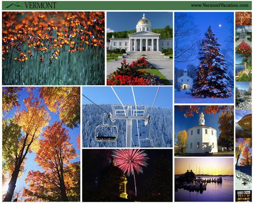 Vermont seasonal fondo de pantalla