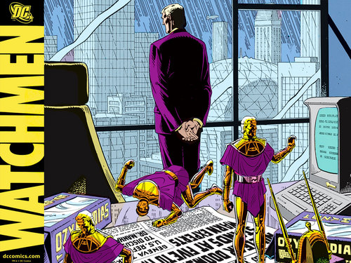 Watchmen – les Gardiens comic