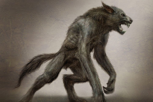 Werewolf mythical creatures photo