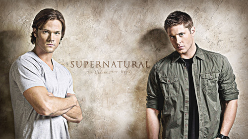 Supernatural wolpeyper entitled Winchester Boys HD