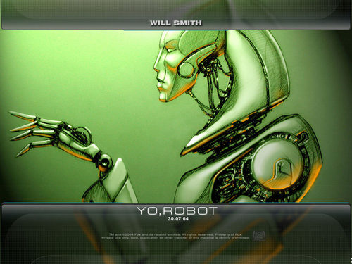 Mannequins wallpaper entitled Yo Robot