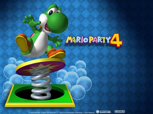 Yoshi - Mario Party games