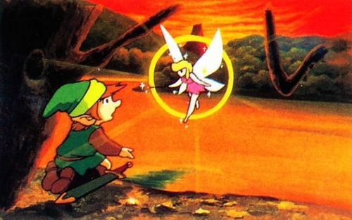 Zelda: Link Finds a Fairy