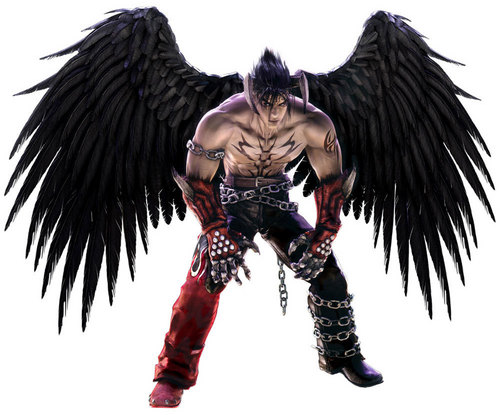 Tekken wallpaper called devil jin