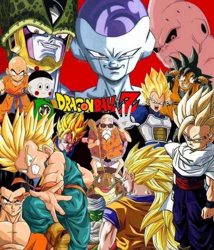 Dragon Ball Z wallpaper possibly containing Anime titled dragonball z wallpaper