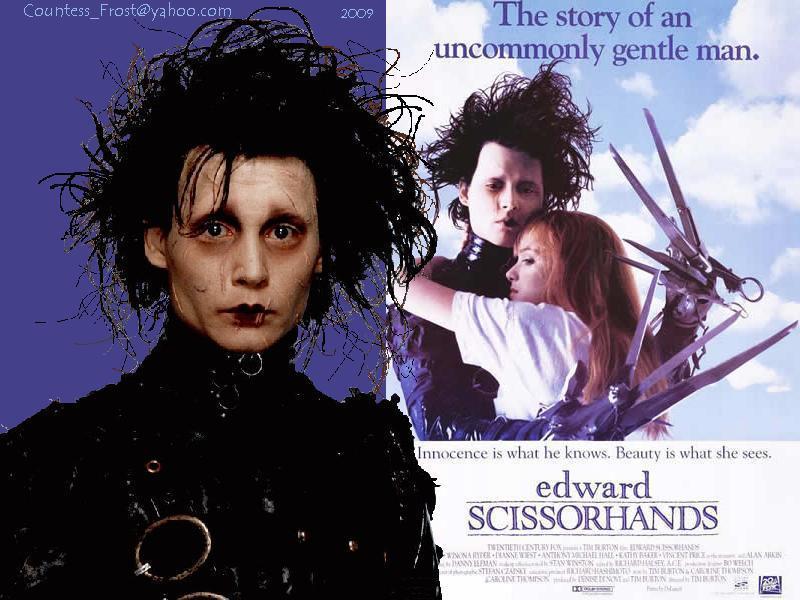 Эдвард руки-ножницы - ужасы - кино - kino-doma