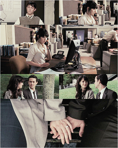 500 Days of Summer wallpaper containing a business suit and a well dressed person titled 5DOS Picspam