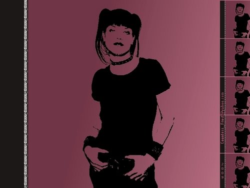 Abby Silhoutte - ncis Wallpaper