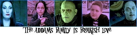 Addams Family Colorbar