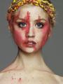 Allison - berwarna merah muda, merah muda