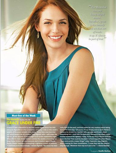 Amanda in TV Guide