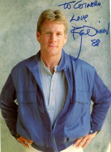 Autograph Ryan O`Neill