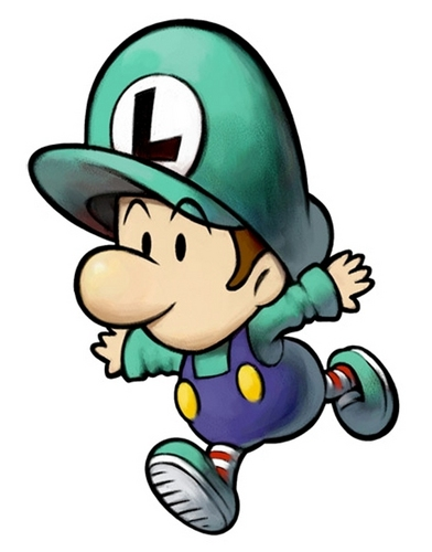 Luigi wallpaper entitled Baby Luigi