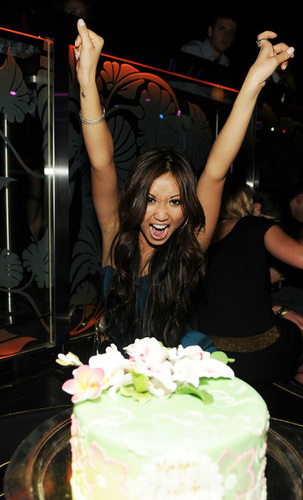 Brenda Song Celebrates 21st Birthday