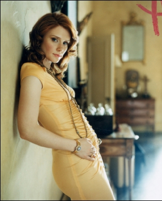 Bryce Dallas Howard پیپر وال probably containing bare legs, tights, and a chemise called Bryce