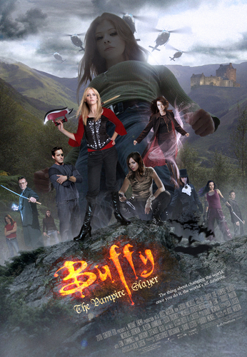 Buffy Movie Poster