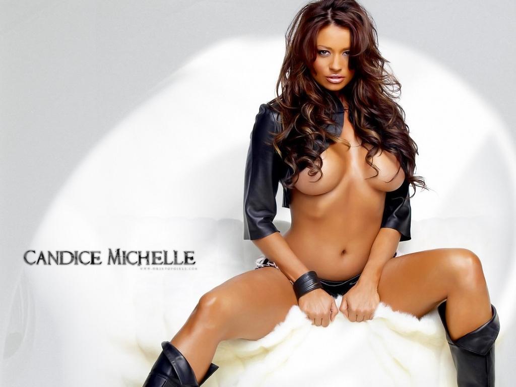wwe diva candice michelle nude pics № 51190